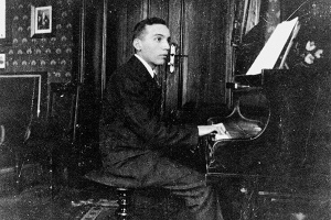 Kurt in 1916 or 1917, in his family home in Dessau