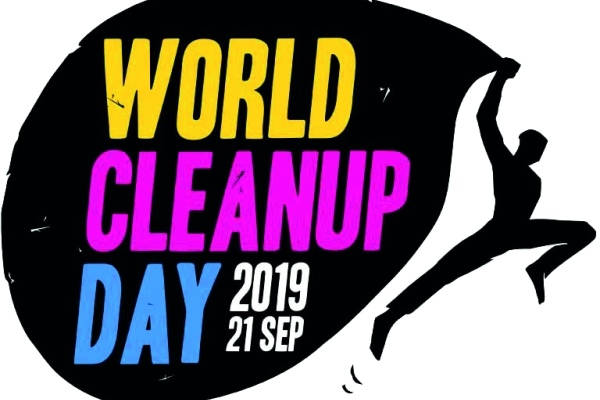 Logo des World Cleanup Day