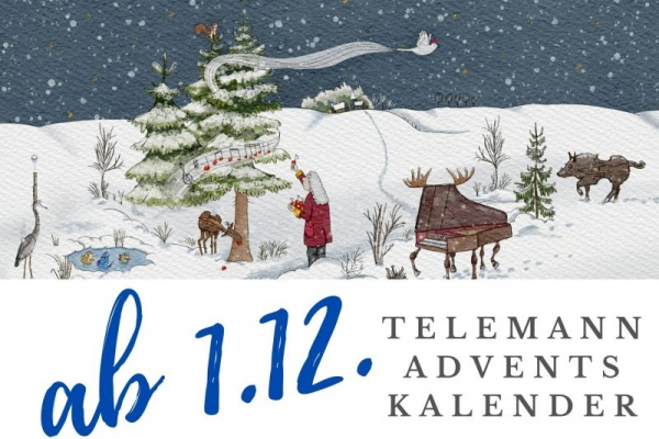 Screenshot Telemann Adventskalender
